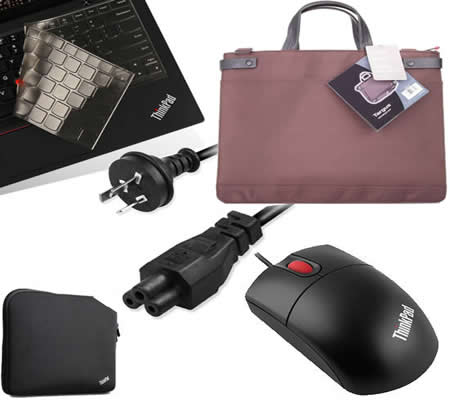 ThinkPad套餐礼包:单肩包+鼠标+内胆包+键盘膜 (200标准套餐)