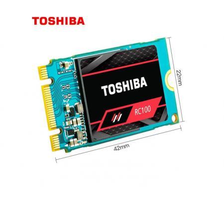 东芝(TOSHIBA) m2固态硬盘240G ssd笔记本固态硬盘m.2 2242 nvme RC100 240G